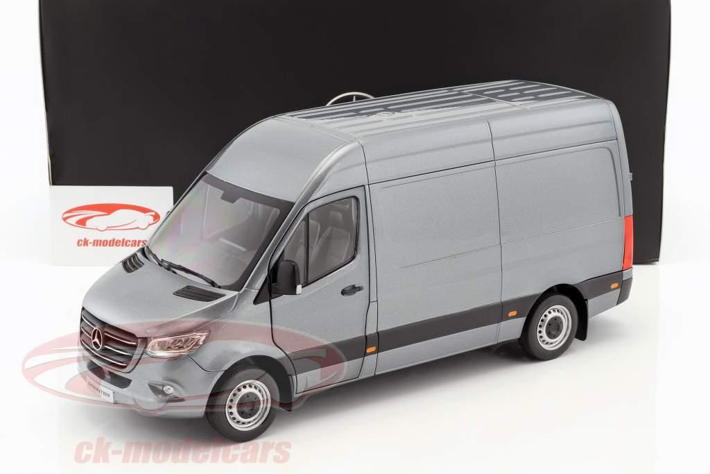 Mercedes-Benz velocista furgoneta año de construcción 2018 selenitgrau metálico 1:18 Norev