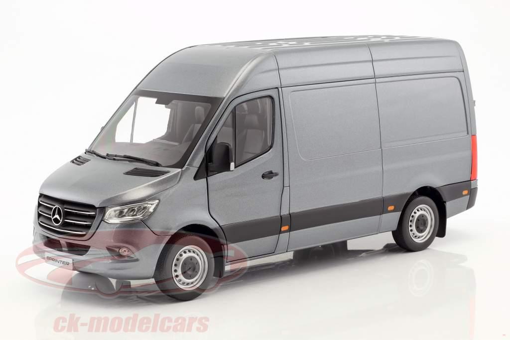 Mercedes-Benz velocista furgone anno di costruzione 2018 selenitgrau metallico 1:18 Norev