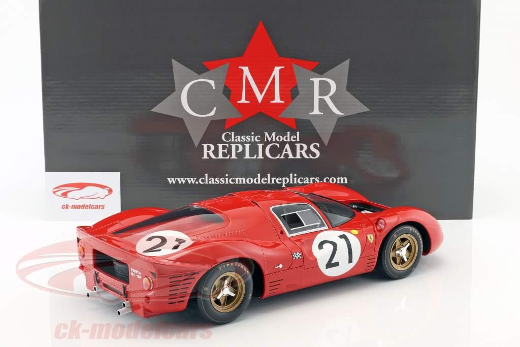 Ferrari 330 P4 #21 2 ° 24h LeMans 1967 Scarfiotti, Parkes 1:12 CMR