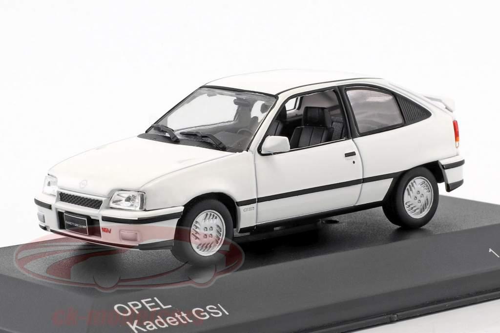 Opel Kadett GSI année de construction 1986 blanc 1:43 WhiteBox