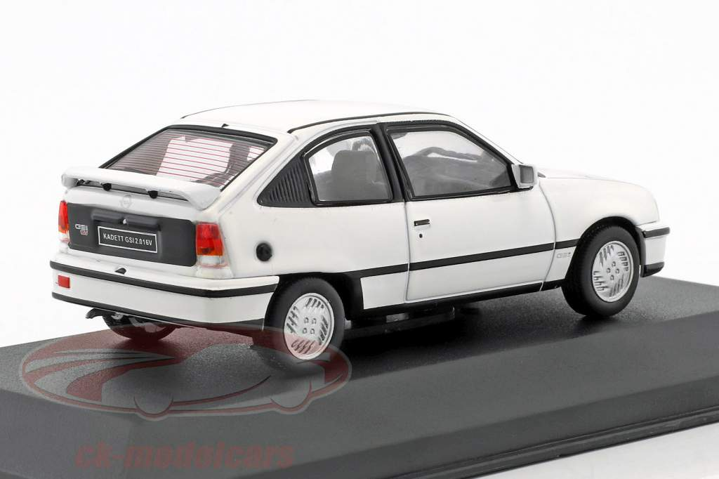 Opel Kadett GSI year 1986 white 1:43 WhiteBox