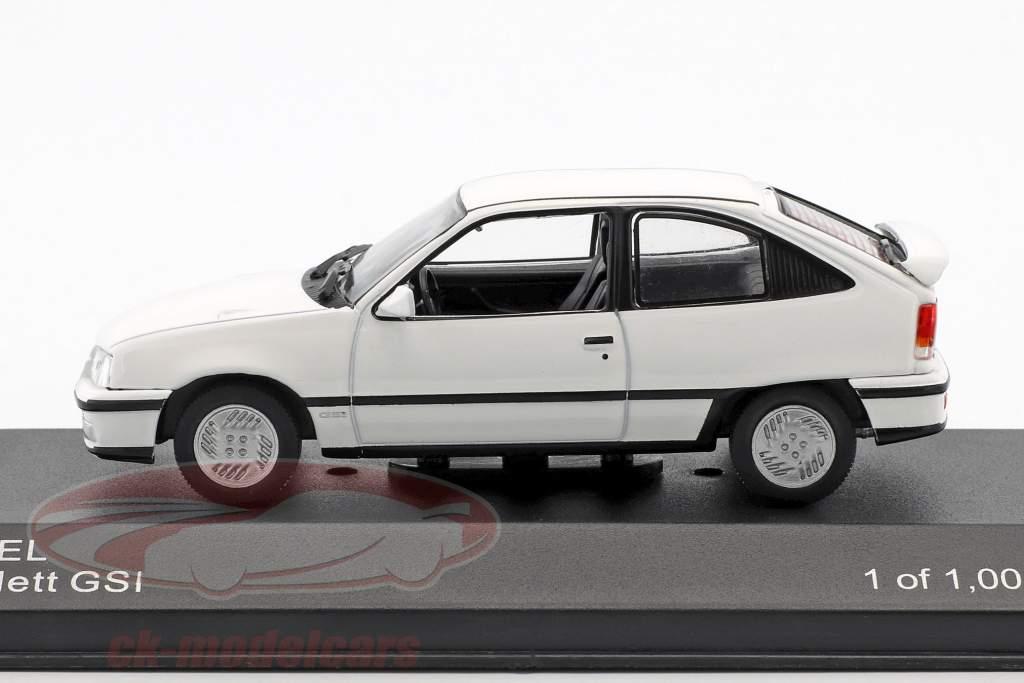Opel Kadett GSI anno di costruzione 1986 bianco 1:43 WhiteBox