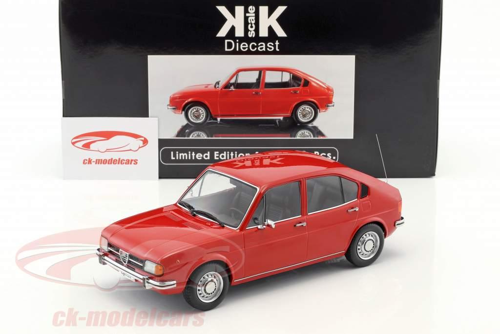 Alfa Romeo Alfasud Año 1974 rojo 1:18 KK-Scale