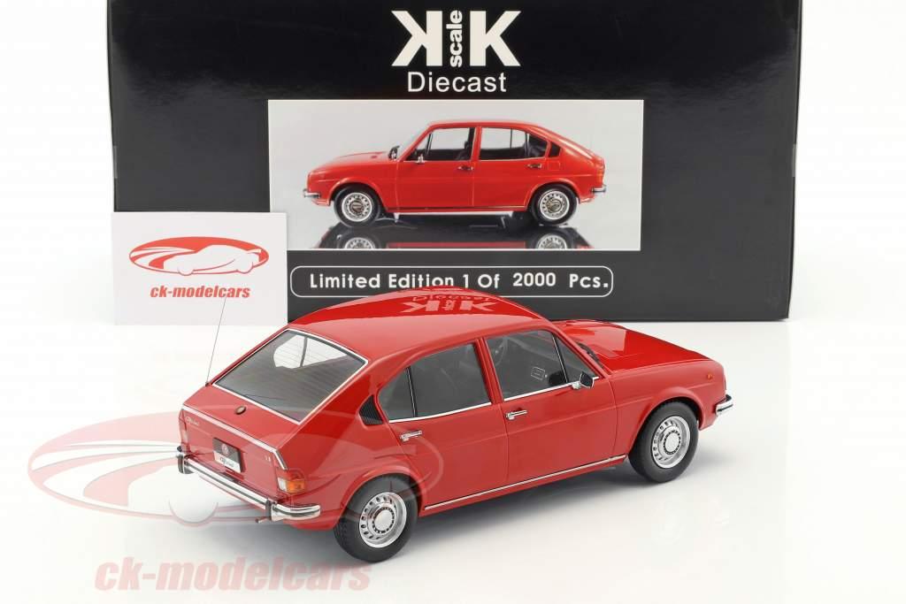Alfa Romeo Alfasud Ano 1974 vermelho 1:18 KK-Scale