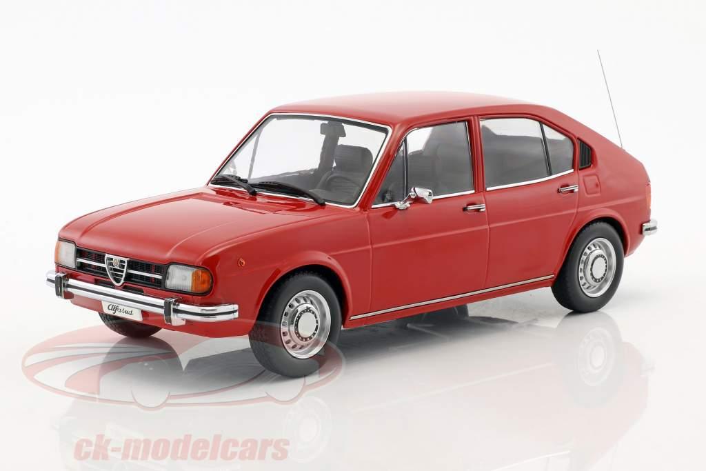 Alfa Romeo Alfasud År 1974 rød 1:18 KK-Scale