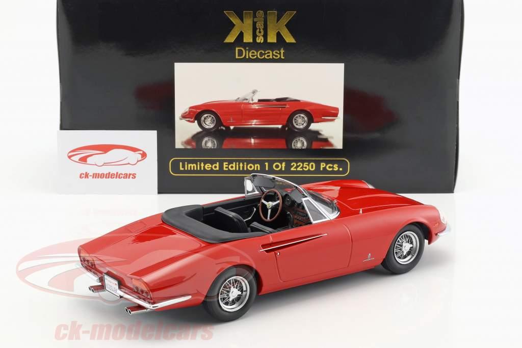 Ferrari 365 California Spyder Year 1966 red 1:18 KK-Scale