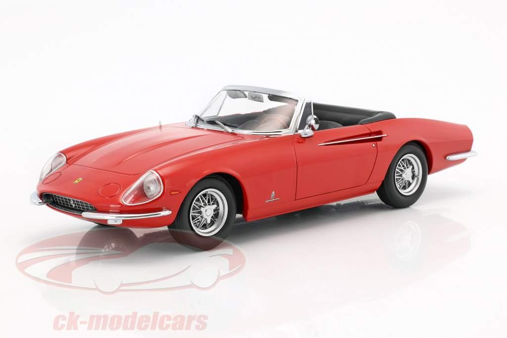 Ferrari 365 California Spyder año 1966 rojo 1:18 KK-Scale