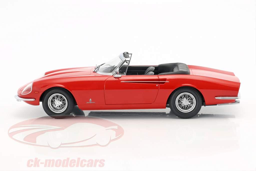 Ferrari 365 California Spyder år 1966 rød 1:18 KK-Scale