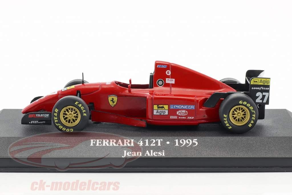 Jean Alesi Ferrari 412 T2 #27 Formel 1 1995 1:43 Atlas