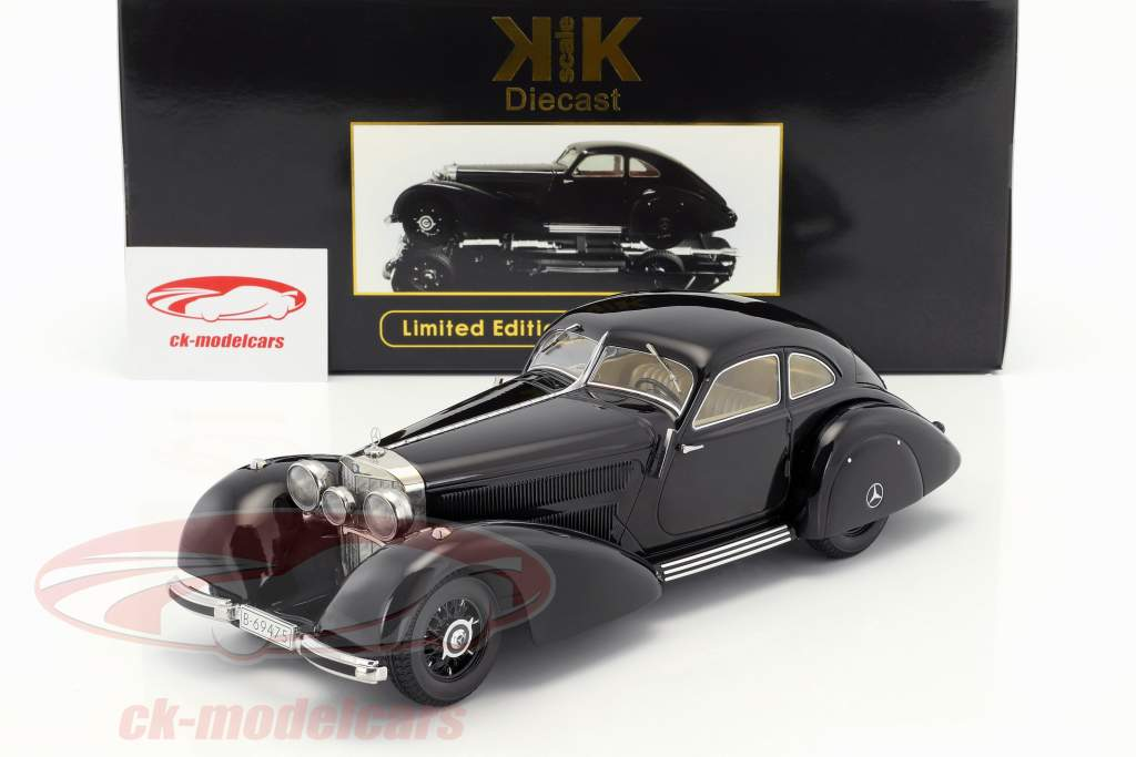 Kk Scale 118 Mercedes Benz 540k Freeway Courier Year 1938 Black