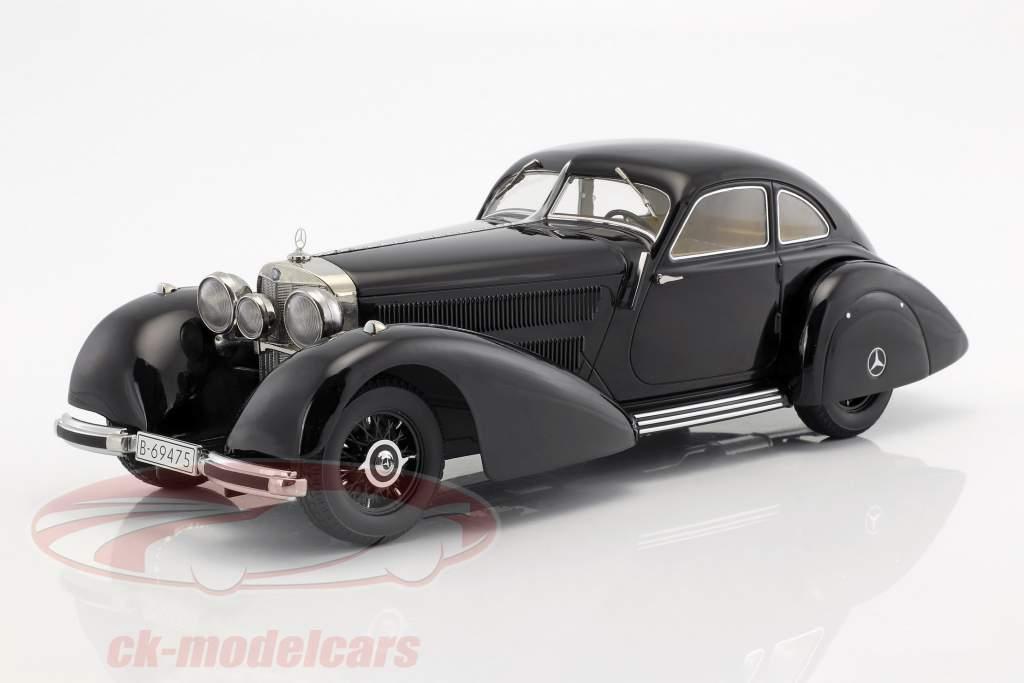 Mercedes-Benz 540K Autobahnkurier Baujahr 1938 schwarz 1:18 KK-Scale