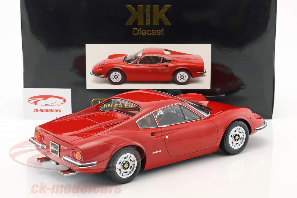 Ferrari 246 GT Dino anno di costruzione 1973 rosso 1:12 KK-Scale