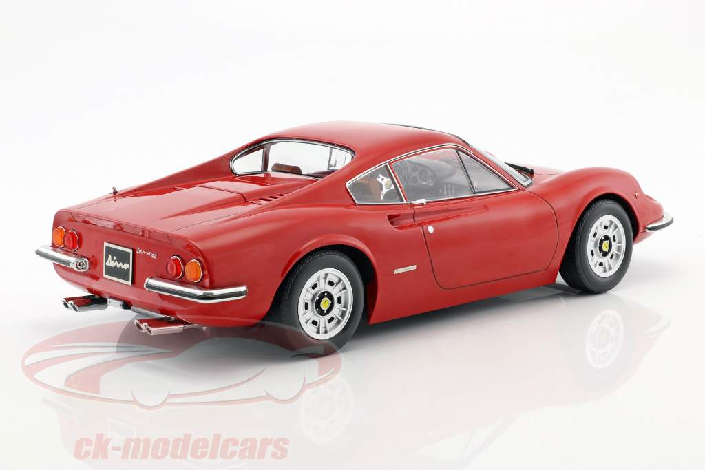 Ferrari 246 GT Dino year 1973 red 1:12 KK-Scale