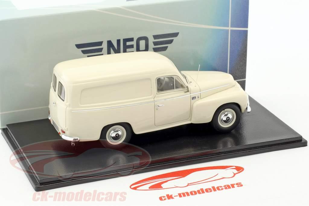 Volvo Duett PV445 anno di costruzione 1956 beige chiaro 1:43 Neo