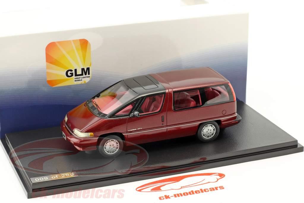 Chevrolet Lumina APV Baujahr 1991 rot 1:43 GLM