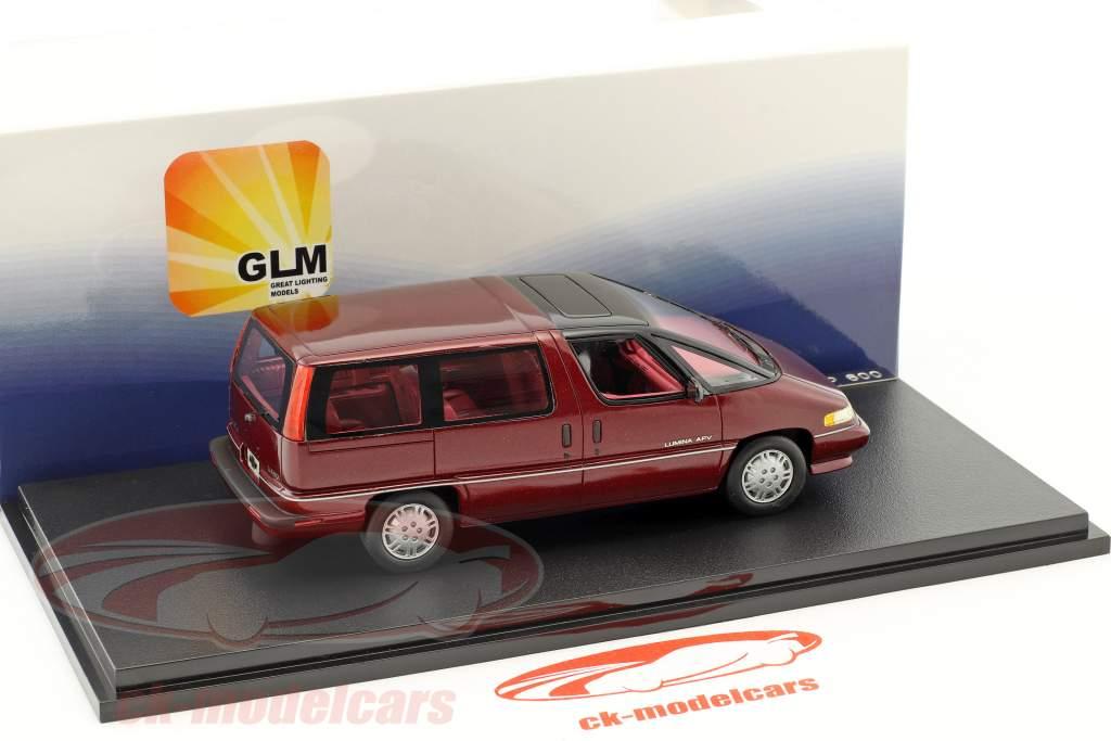 Chevrolet Lumina APV anno di costruzione 1991 rosso 1:43 GLM