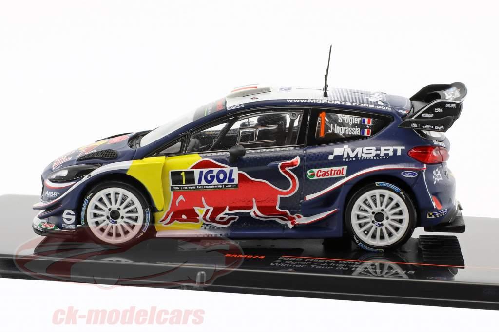 Ford Fiesta WRC #1 Winner Tour de Corse 2018 Ogier, Ingrassia 1:43 Ixo