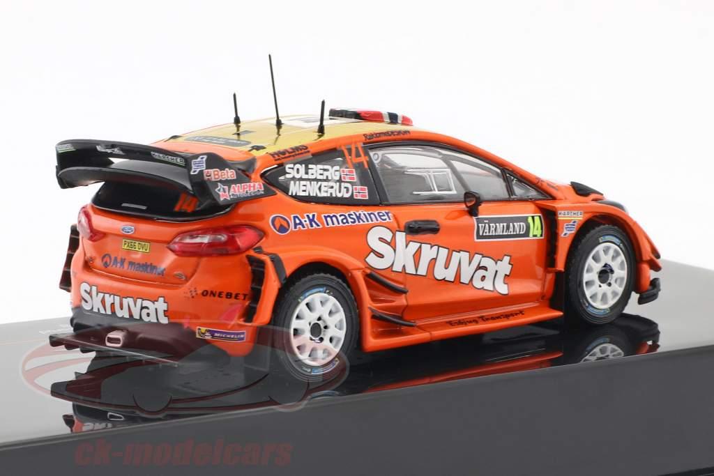 Ford Fiesta WRC #14 Rallye Sweden 2018 Solberg, Menkerud 1:43 Ixo