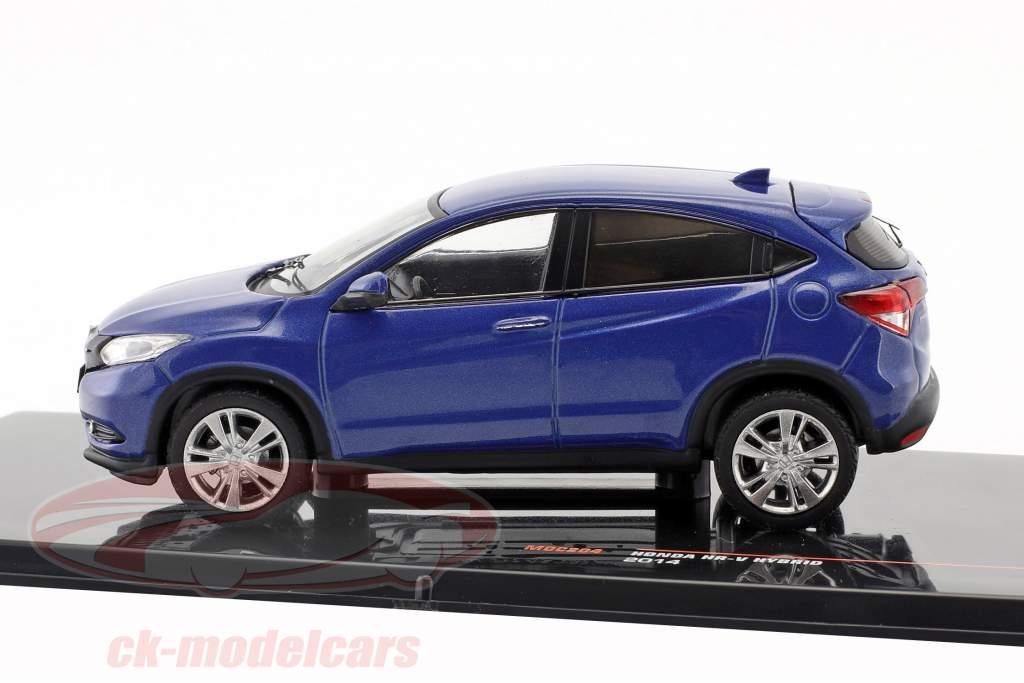 Honda HR-V Hybrid año de construcción 2014 azul metálico 1:43 Ixo