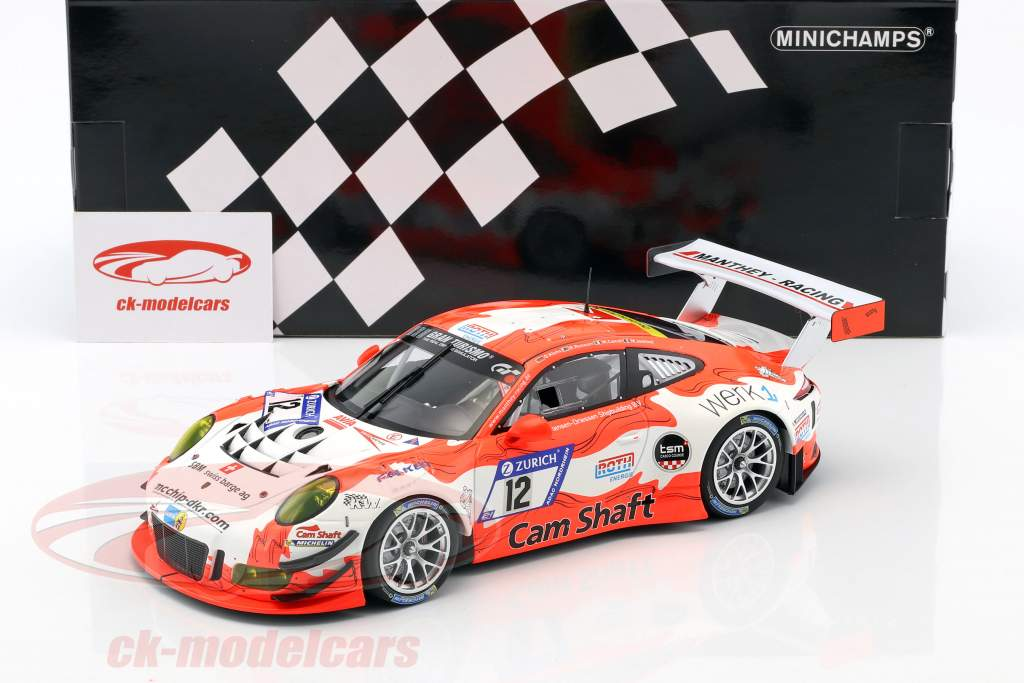 Porsche 911 GT3 R #12 24h Nürburgring 2017 Manthey Racing 1:18 Minichamps