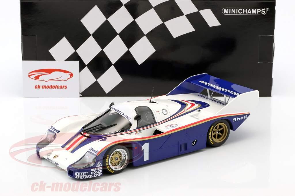 Porsche 956K #1 vincitore di classe 6h Silverstone 1982 Ickx, Bell 1:18 Minichamps