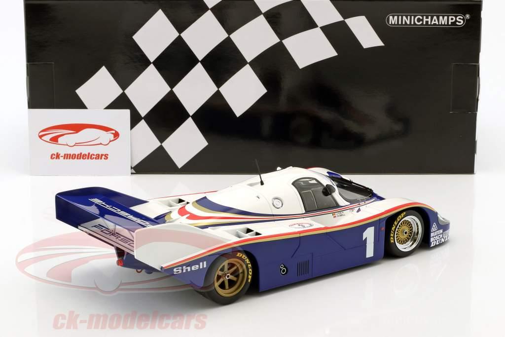 Porsche 956K #1 vainqueur de la classe 6h Silverstone 1982 Ickx, Bell 1:18 Minichamps