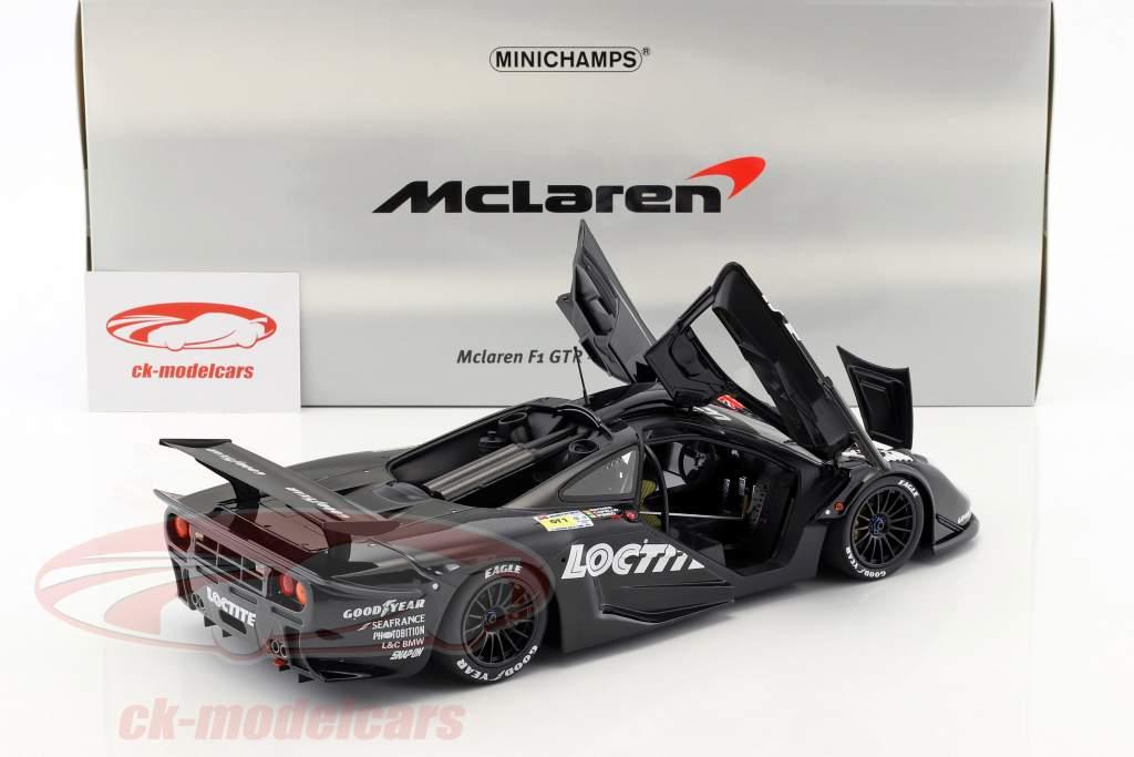 McLaren F1 GTR #41 24h LeMans 1998 Bscher, Capello, Pirro 1:18 Minichamps