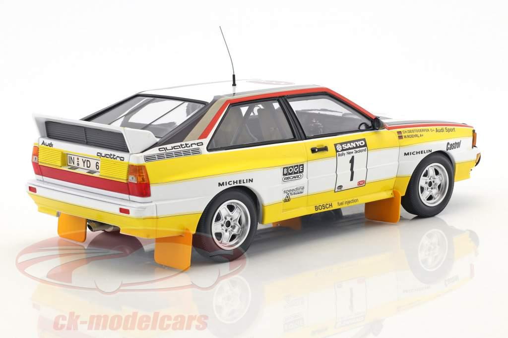 AUDI quattro a2 #1 Röhrl Rally New Zealand 1984 MINICHAMPS 155841101 1:18