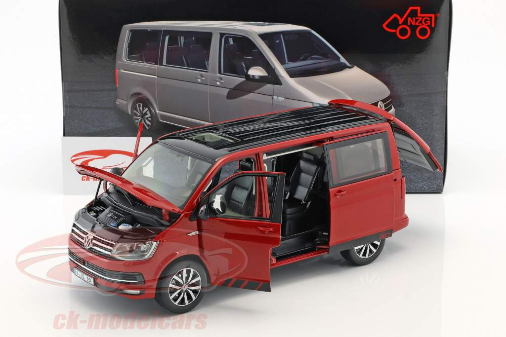 Volkswagen VW T6 Multivan Edition 30 rot 1:18 NZG
