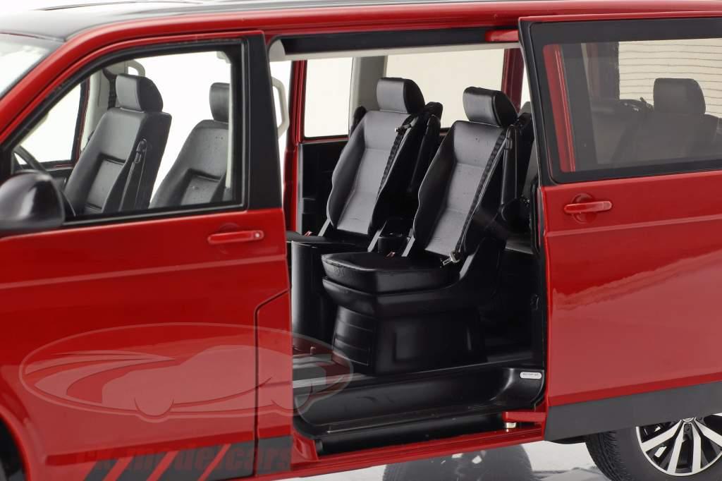 Volkswagen VW T6 Multivan édition 30 rouge 1:18 NZG