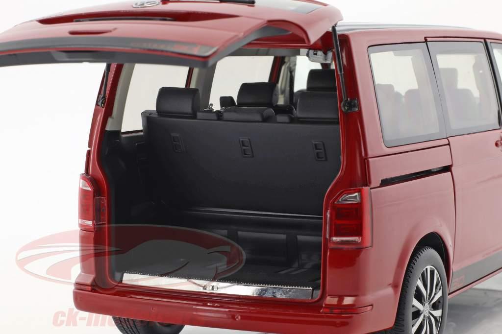 Volkswagen VW T6 Multivan edizione 30 rosso 1:18 NZG
