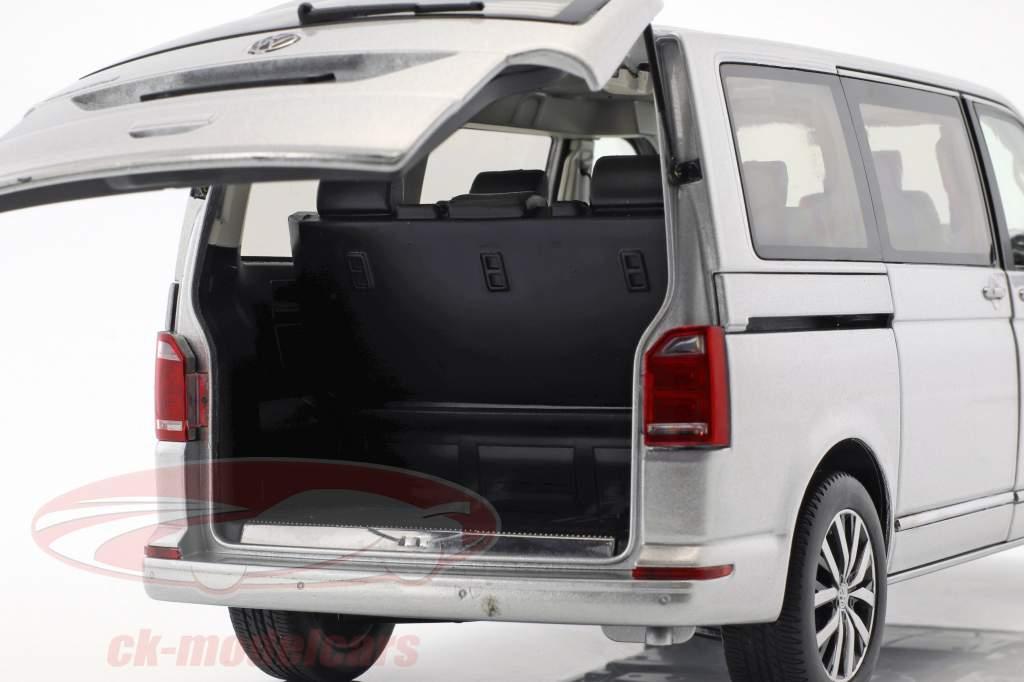 Volkswagen VW T6 Multivan Highline silver 1:18 NZG