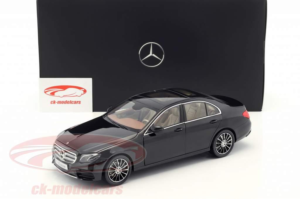 Mercedes-Benz E-Class (W213) AMG Line obsidian black 1:18 iScale
