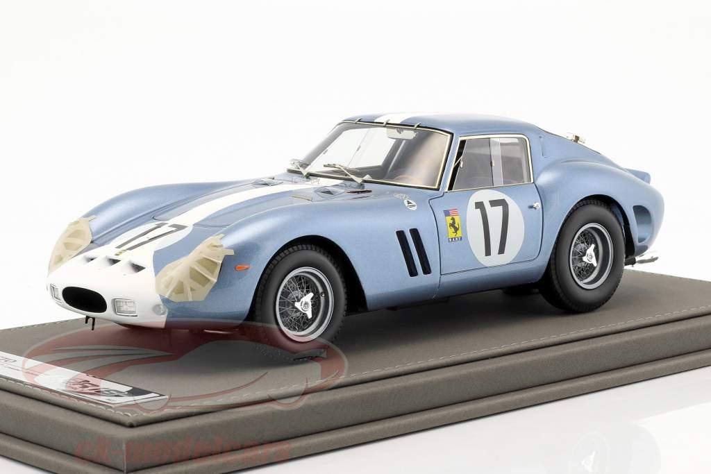 Ferrari 250 GTO giorno versione #17 vincitore di classe 24h LeMans 1962 Grossmann, Roberts 1:18 BBR