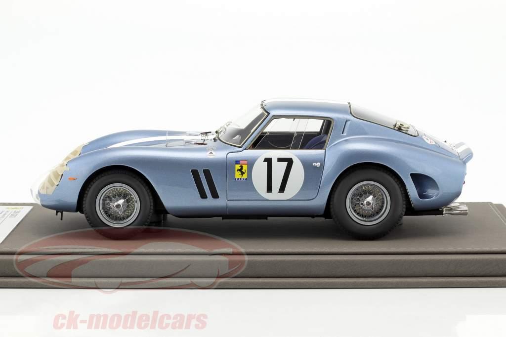 Ferrari 250 GTO jour version #17 vainqueur de la classe 24h LeMans 1962 Grossmann, Roberts 1:18 BBR