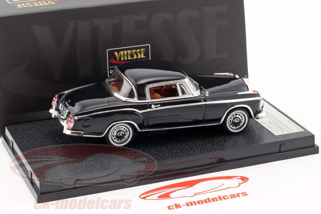 Mercedes-Benz 220 SE coupe Opførselsår 1959 sort 1:43 Vitesse