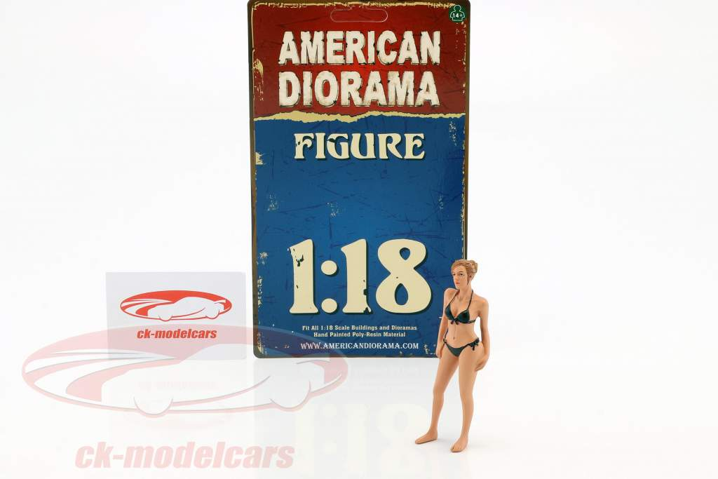 kalender pige april i bikini 1:18 American Diorama