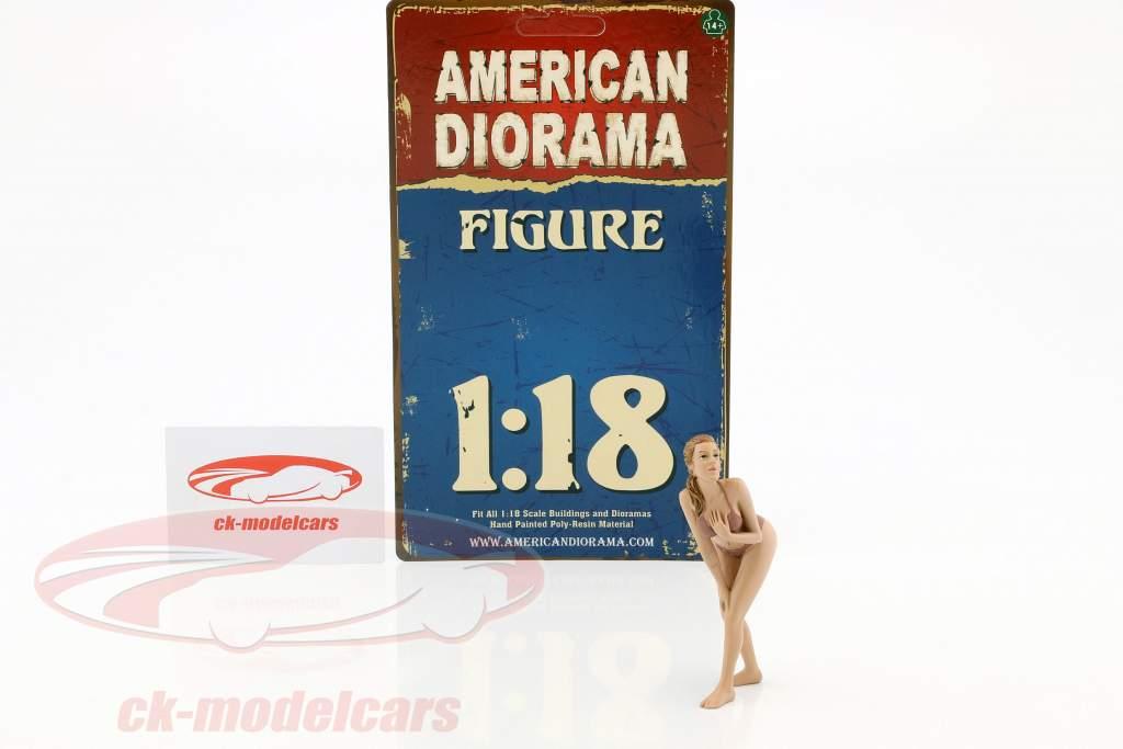kalender meisje mei in bikini 1:18 American Diorama