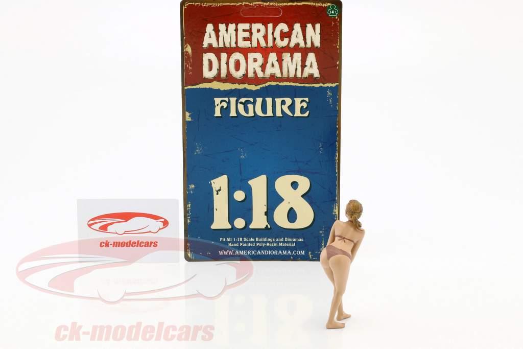 calendario ragazza maggio in bikini 1:18 American Diorama