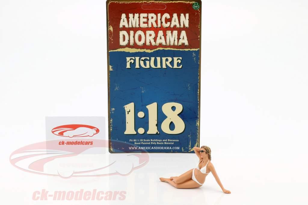 kalender meisje juni in bikini 1:18 American Diorama