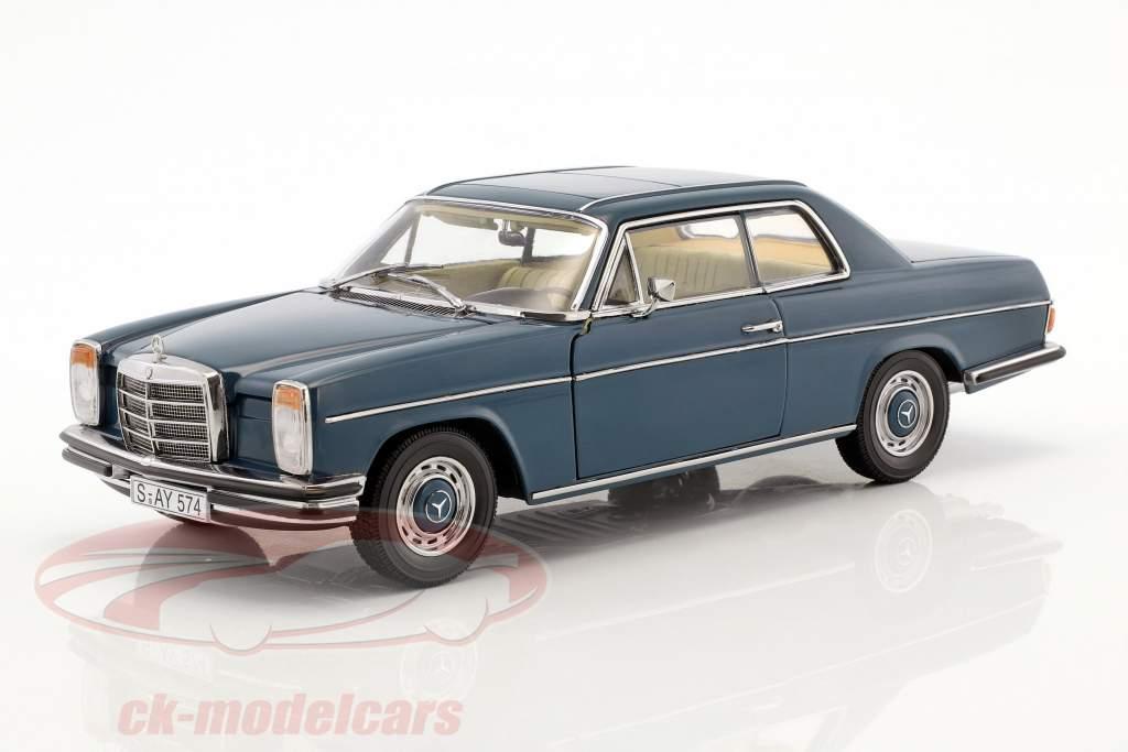 Mercedes-Benz Strich 8 coupe ano de construção 1973 escuro azul 1:18 Sun Star