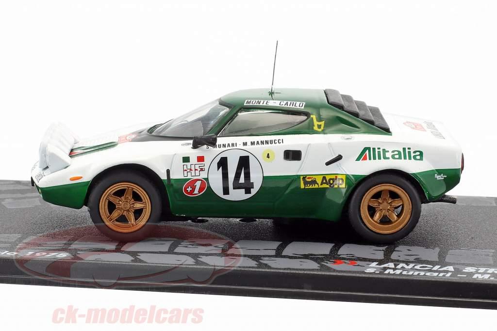 altaya 1:43 lancia stratos hf #14 rallye monte carlo 1975 munari