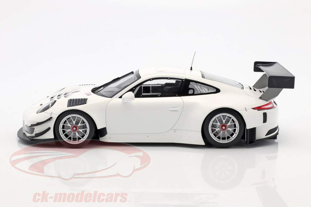 Porsche 911 (991) GT3 R Version carrosserie blanche 2016 1:18 Minichamps