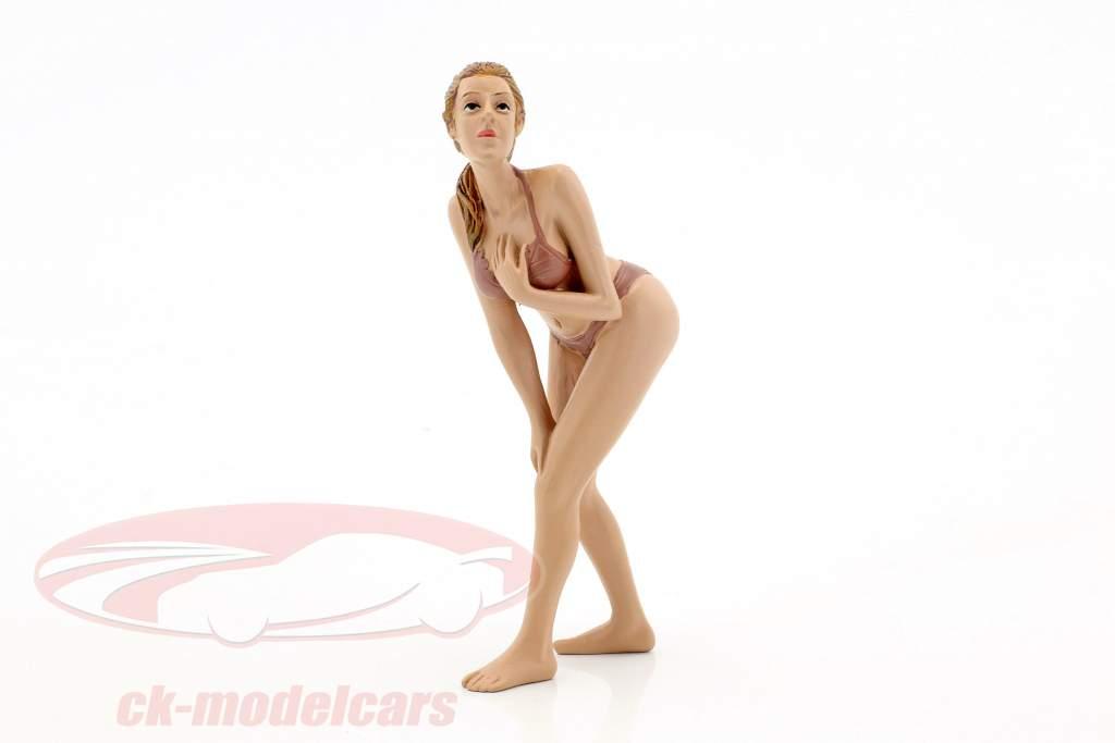 Kalender-Girl Mai im Bikini 1:18 American Diorama