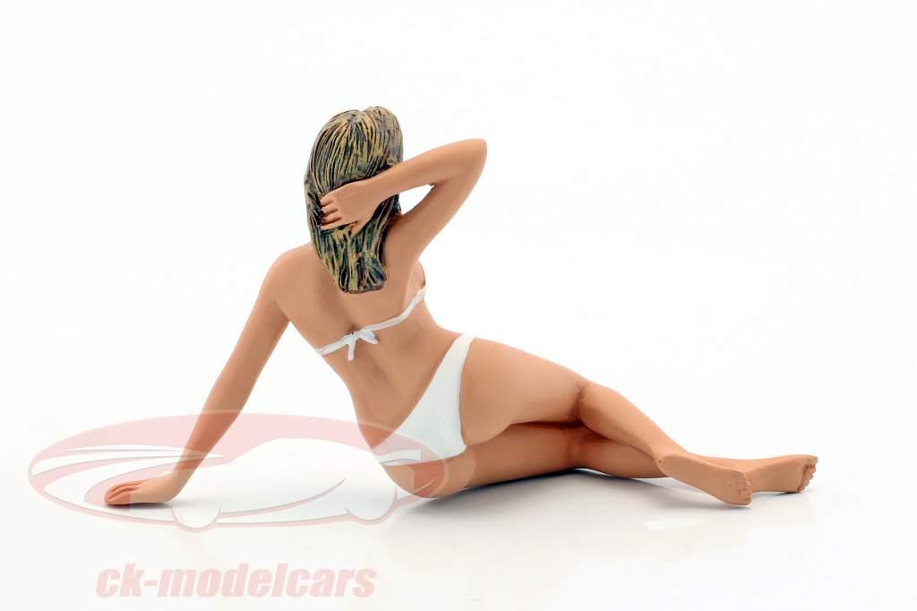 Kalender-Girl Juni im Bikini 1:18 American Diorama
