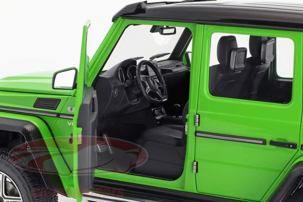 Mercedes-Benz Classe G G500 4x4² anno di costruzione 2016 alien verde 1:18 AUTOart
