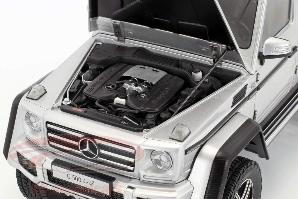 Mercedes-Benz G-Class G500 4x4² année de construction 2016 argent 1:18 AUTOart