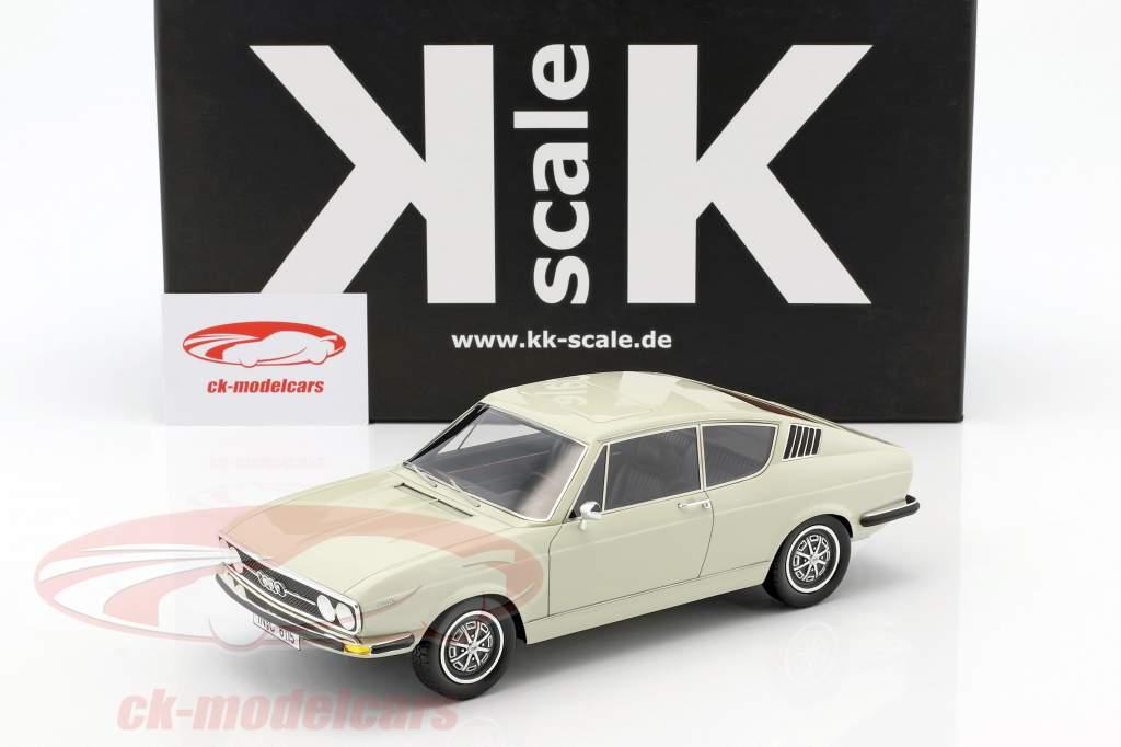 Audi 100 Coupe S year 1970 white 1:18 KK-Scale
