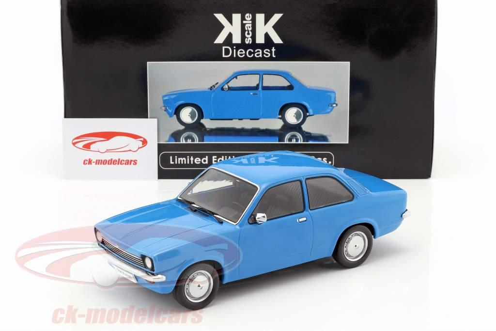 Opel Kadett C Limusine Ano 1973-1977 azul 1:18 KK-Scale