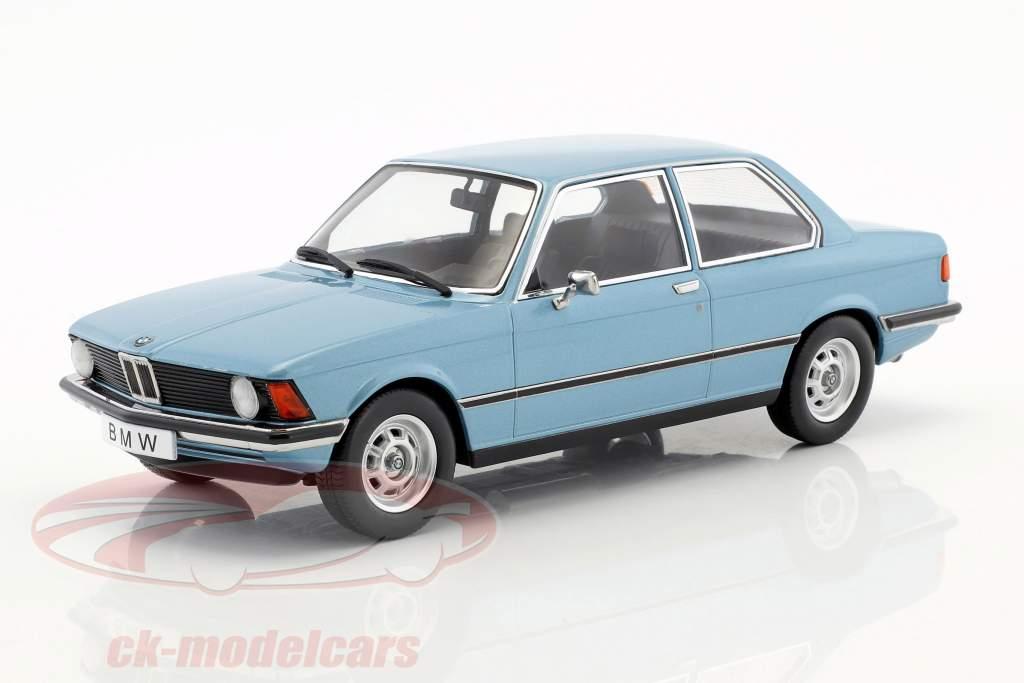 BMW 318i E21 anno 1975 azzurro metallico 1:18 KK-Scale